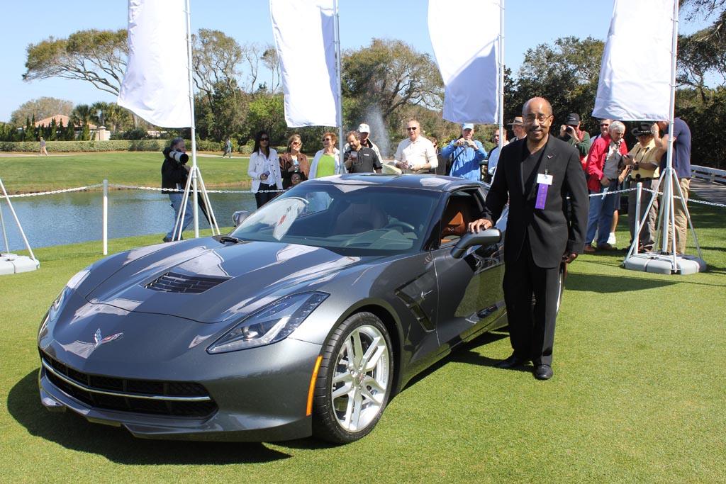 2014 Night Race Blue Vs Cyber Gray Corvette   Autos Post
