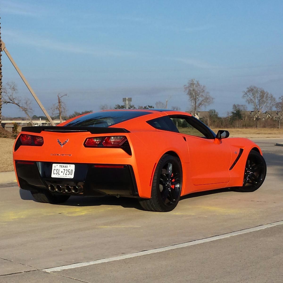 First Orange C7 Chevrolet Corvette Stingray C7 Forum